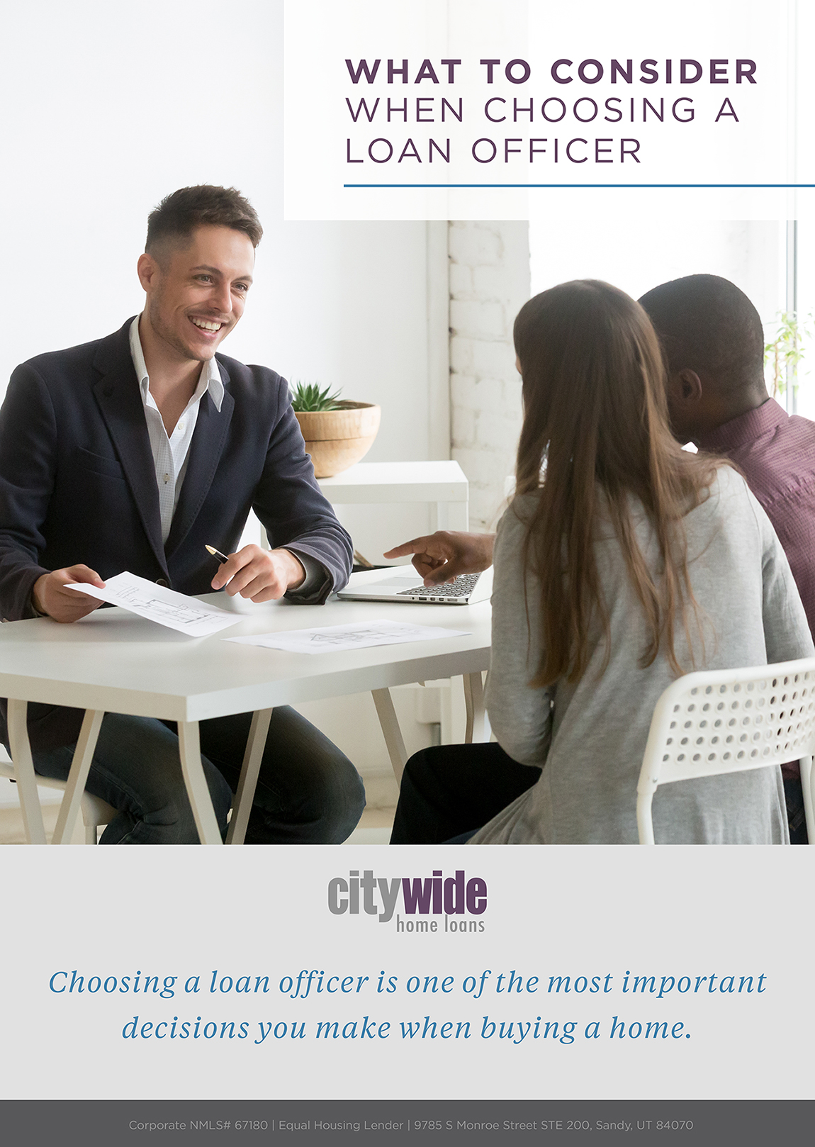 What to Consider When Choosing a Loan Officer | Citywide ...